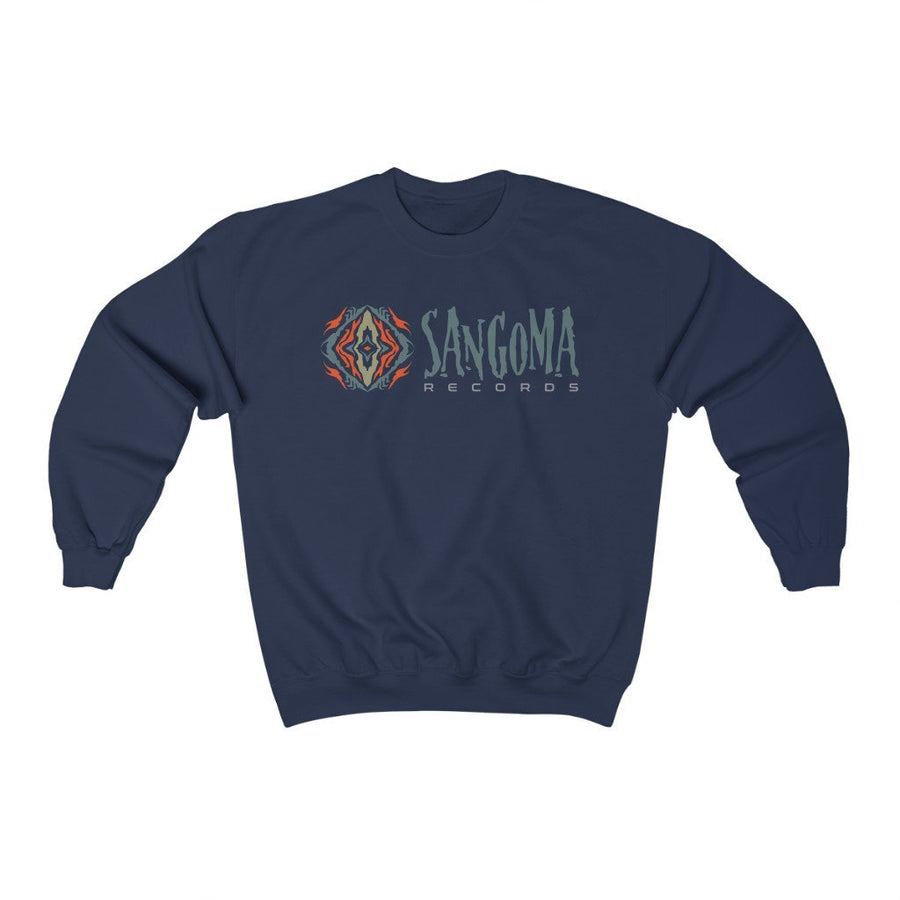 Sangoma mandala Heavy Blend™ Crewneck Sweatshirt - Trancentral Shop