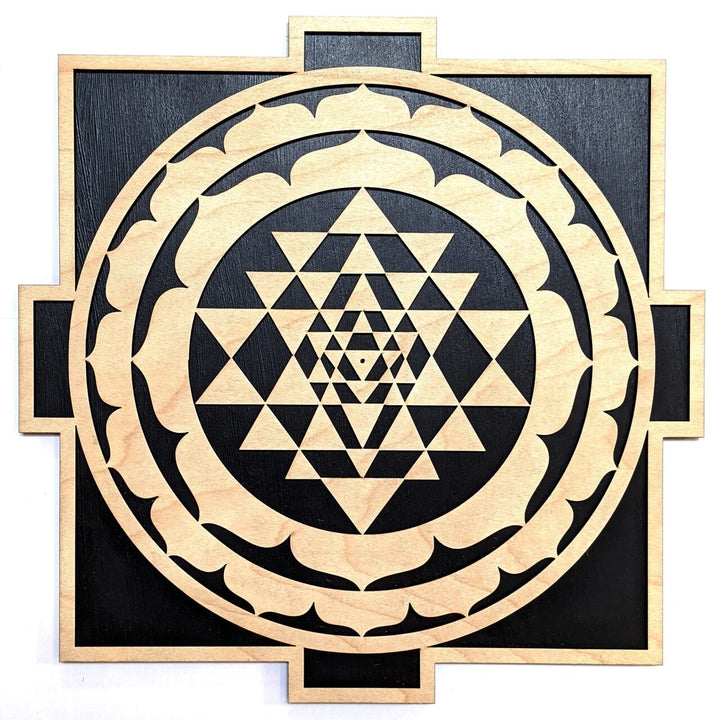 Sri Yantra Mandala Wall Art - Trancentral Shop