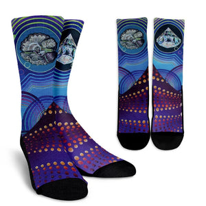 The Mushroom Crew Socks - Trancentral Shop