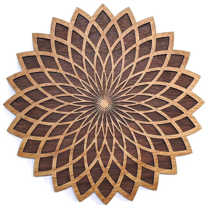 Torus Flower Wall Art - Trancentral Shop