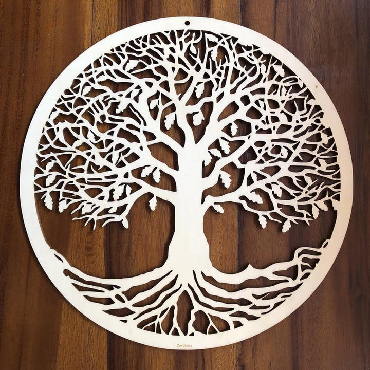 Tree of Life Wooden Wall Art - Trancentral Shop