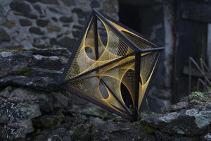 XL Octahedron with string art - Flower of Life - Trancentral Shop