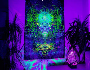 Yoga UV Wall Backdrop - Trancentral Shop