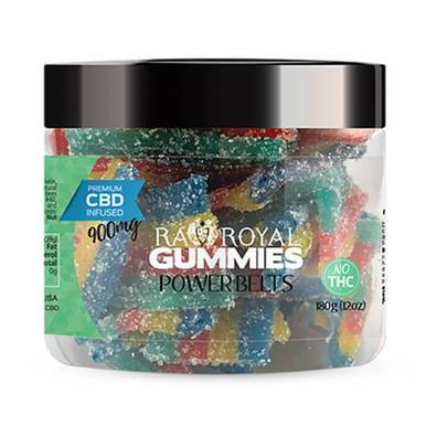 Image of RA Royal CBD - CBD Edible - Power Belts Gummies - 300mg-1200mg