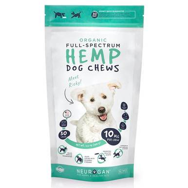 Neurogan, Inc. - CBD Pet Treat - Full Spectrum Dog Treats - 10mg