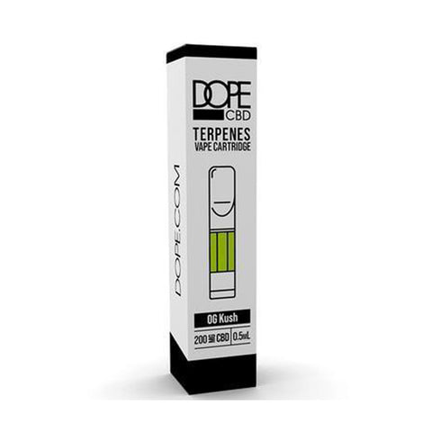 Dope CBD - CBD Cartridge - OG Kush With Terpenes - 200mg-400mg