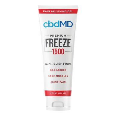cbdMD - CBD Topical - Freeze Cold Therapy - 300mg-1500mg