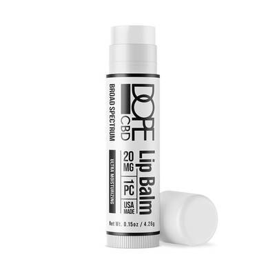 Image of Dope CBD - CBD Topical - Broad Spectrum Moisturizing Lip Balm - 20mg