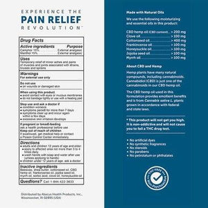 CBDMEDIC - CBD Topical - Active Sport Pain Relief Stick
