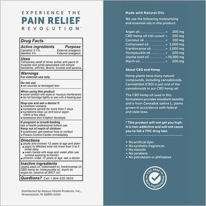 CBDMEDIC - CBD Topical - Massage Therapy Pain Relief Oil