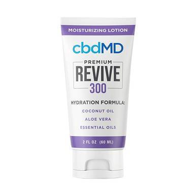 cbdMD - CBD Topical - Revive Moisturizing Lotion - 300mg-1500mg