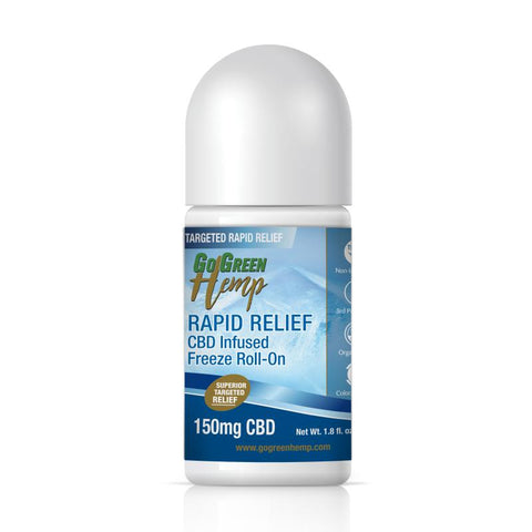 GoGreen Hemp CBD Infused Freeze Roll on 150mg