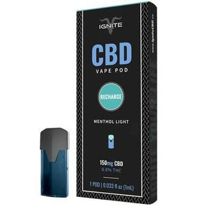 Ignite CBD - CBD Pod - Menthol Light - 150mg