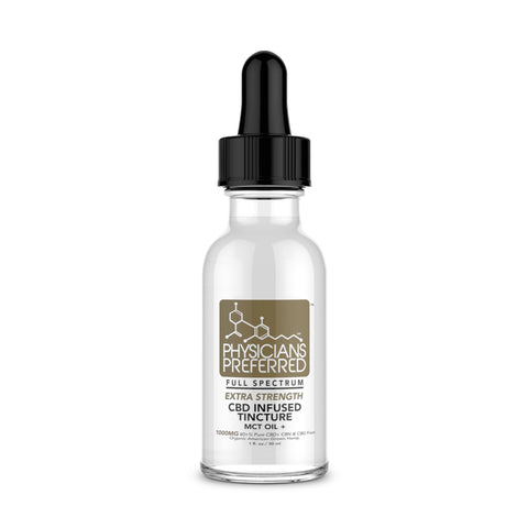 1000mg Isolate CBD Extra Strength CBD Tincture