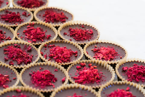 Image of CBD Chocolate Tart Confection