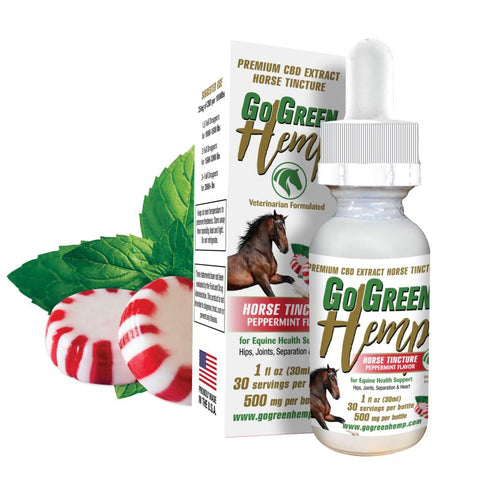 Image of GoGreen Hemp CBD Horse Tincture 500mg
