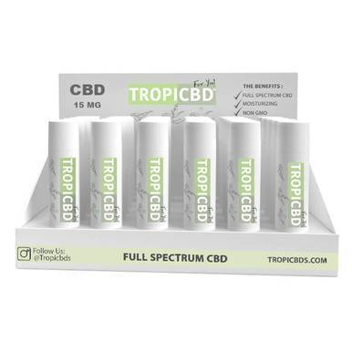 Image of TropiCBD - CBD Topical - Lip Balm - 15mg