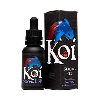 Koi CBD - CBD Vape Juice - Tropical Popsicle - 100mg-1000mg