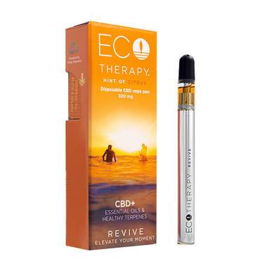 ECO Therapy CBD - CBD Vape - Revive Disposable Pen - 500mg