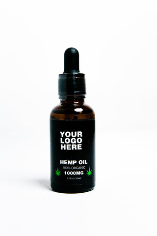 Hemp Seed Oil - Premium Grade - 100% Natural - 2000MG - 1 Fl. Oz. / 30 Ml.