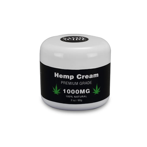 Image of Hemp Seed Oil Cream - Premium Grade - 100% Natural - 1000MG - 2 Oz. / 60 G.