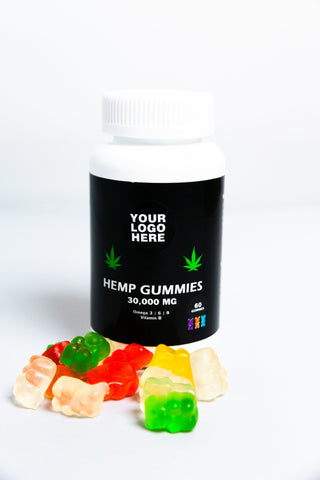 Image of Hemp Seed Oil Gummies - 30,000MG - 60 Gummies
