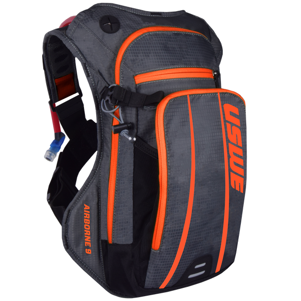 Airborne 9 Grey Orange