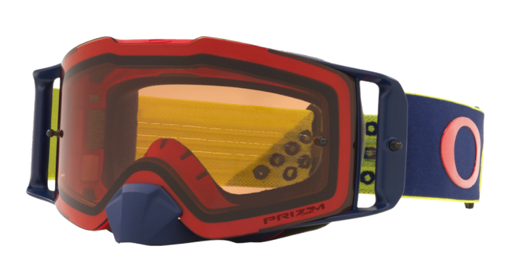 OAKLEY Front Line™ MX Prizm Goggle Red Yellow Prizm Bronze