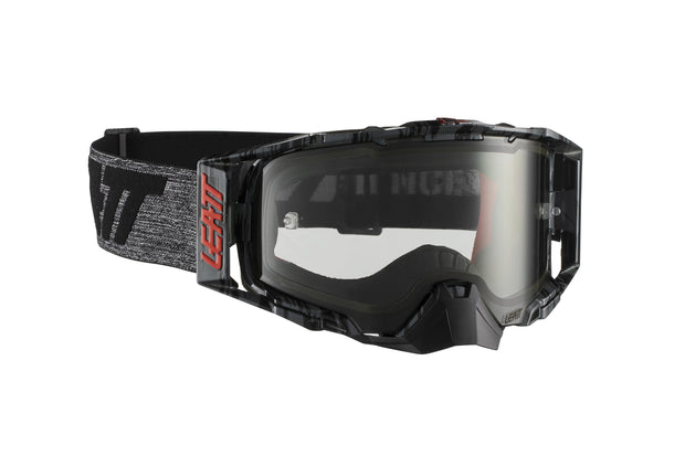 Leatt Goggle Velocity 6.5 Brushed/Gry Light Grey 72%
