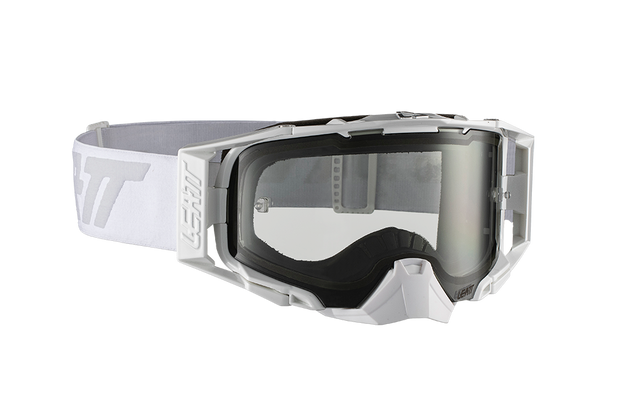 Leatt Goggle Velocity 6.5 Wht/Gry Light Grey 72%