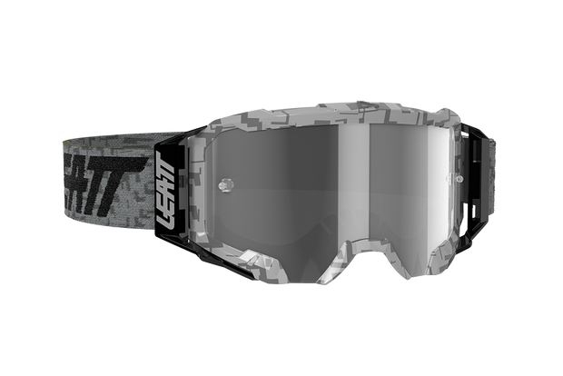 Leatt Goggle Velocity 5.5 STEEL LIGHT GREY 58%