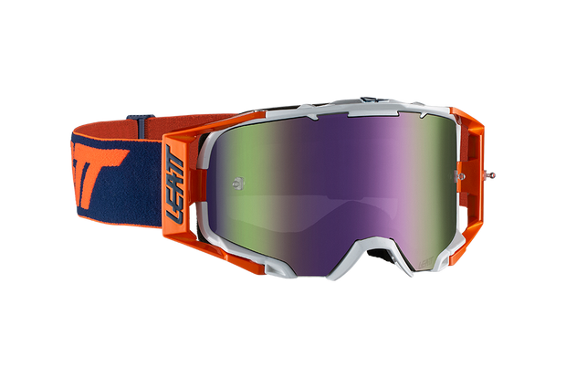 Leatt Goggle Velocity 6.5 Iriz Org/Ink Purple 30%