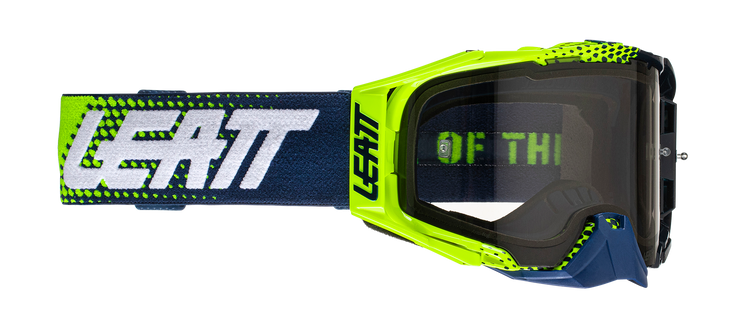 Leatt Goggle Velocity 6.5 Lime Blue