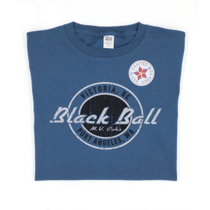 indigo Black Ball t-shirt