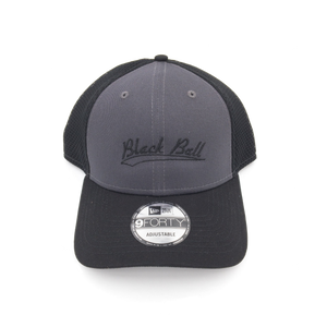 Black Ball swoosh adjustable grey hat