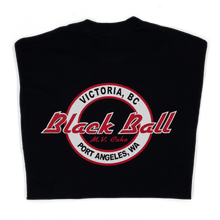 Load image into Gallery viewer, Black Ball t-shirt variation 1