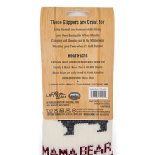 Load image into Gallery viewer, mama bear socks back view