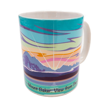 Load image into Gallery viewer, Mount Baker coffee cup view 1