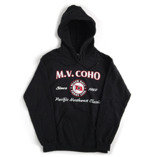 Load image into Gallery viewer, black MV COHO hoodie