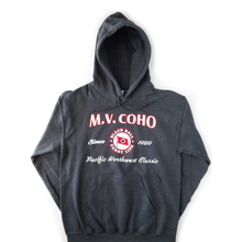 Load image into Gallery viewer, charcoal grey MV COHO hoodie