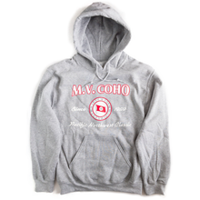 Load image into Gallery viewer, light grey MV COHO hoodie