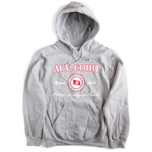 light grey MV COHO hoodie