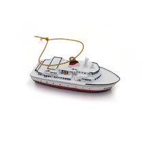 Load image into Gallery viewer, MV COHO resin ornament right view
