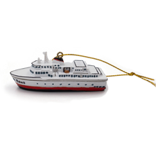 Load image into Gallery viewer, MV COHO resin ornament left view