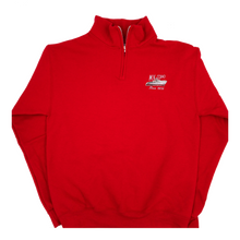 Load image into Gallery viewer, red MV COHO quarter zip