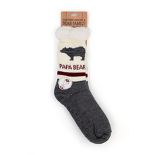 Load image into Gallery viewer, papa bear socks
