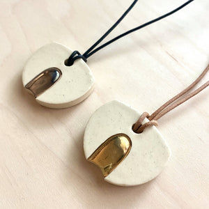 Eclipse Ceramic Necklace
