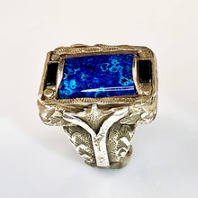 Load image into Gallery viewer, Rare Shattukite Men's Ring
