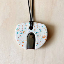 Load image into Gallery viewer, Eclipse Ceramic Necklace