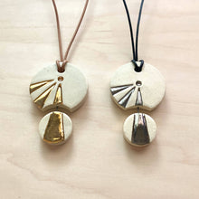 Load image into Gallery viewer, Light Beam Ceramic Necklace